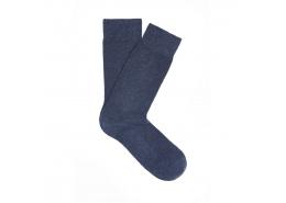 Lacivert Erkek Uzun Çorap (091159-26828)