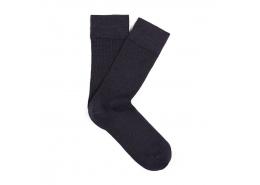 Erkek Gece Lacivert Uzun Çorap (091411-26828)
