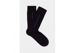 Erkek Siyah Uzun Rahat Çorap (091412-900)