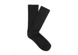 Mavi Jeans Erkek Siyah Düz Uzun Çorap