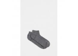 Mavi Jeans Düz Gri Erkek Bilek Çorap