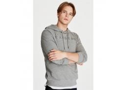 Extreme Baskılı Erkek Gri Sweatshirt