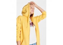 Fermuarlı Kadın Sarı Sweatshirt (167300-29847)
