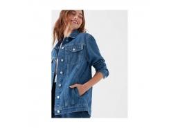 Mavi Jeans Jill Gold Icon Kadın Mavi Jean Ceket