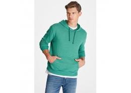 Kapüşonlu Erkek Yeşil Sweatshirt (065705-29811)
