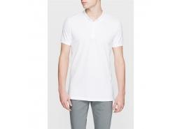 Mavi Jeans Erkek Beyaz Polo Yaka Tişört