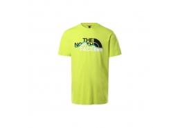 Mountain Line Erkek Sarı Tişört (NF00A3G2JE31)
