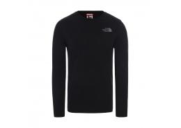 Easy Uzun Kollu Erkek Siyah Tişört (NF0A2TX1KZ21)