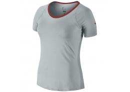 Advantage Court Top Kadın Gri Tişört