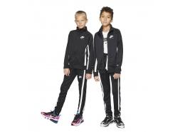 Air Track Suit Çocuk Siyah Eşofman Takımı
