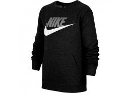 Sportswear Club Çocuk Siyah Sweatshirt