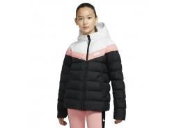 Sportswear Synthetic Fill Kapüşonlu Çocuk Mont