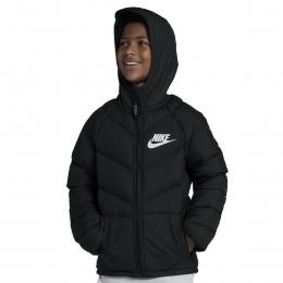 Sportswear Çocuk Siyah Outdoor Şişme Mont