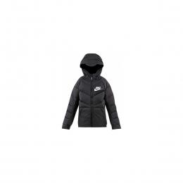 Sportswear Çocuk Siyah Şişme Mont
