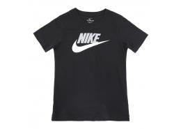 Tee Futura Çocuk Siyah Tenis Tişörtü