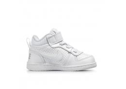 Court Borough Mid Bebek Beyaz Spor Ayakkabı