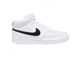 Court Vision Mid Erkek Beyaz Koşu Ayakkabısı
