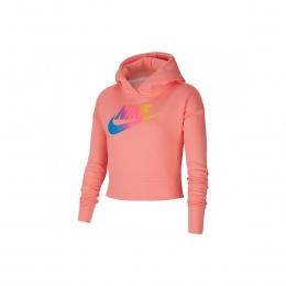 Sportswear Kız Çocuk Kısa Pembe Sweatshirt (CJ6937-668)