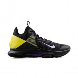 LeBron Witness IV Erkek Siyah Basketbol Ayakkabısı (BV7427-004)