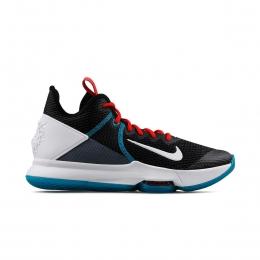 LeBron Witness IV Erkek Siyah Basketbol Ayakkabısı (BV7427-005)