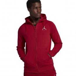 Air Jordan Jumpman Fleeze Erkek Kırmızı Sweatshirt