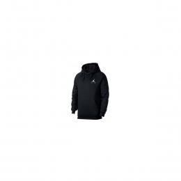 Air Jordan Jumpman Fleeze Pullover Erkek Siyah Sweatshirt