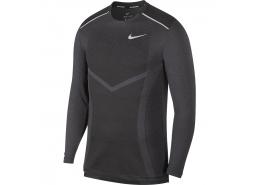 Techknit Ultra Ls Erkek Siyah Uzun Kollu Tişört