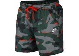 Sportswear Camo Erkek Yeşil Deniz Şortu (AR2922-323)