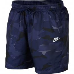 Sportswear Camo Erkek Lacivert Deniz Şortu (AR2922-410)