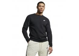Sportswear Club Crew Erkek Siyah Sweatshirt