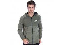Sportswear Advance 15 Erkek Yeşil Kapüşonlu Sweatshirt