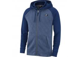 Sportswear Optic Kapüşonlu Erkek Mavi Sweatshirt