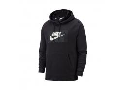 Sportswear Optic Erkek Siyah Kapüşonlu Sweatshirt (BV2989-010)