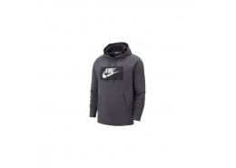 Sportswear Optic Kapüşonlu Erkek Gri Sweatshirt (BV2989-021)