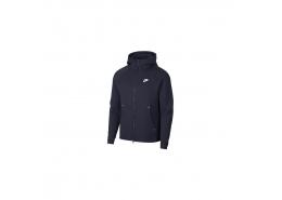 Sportswear Tech Fleece Erkek Lacivert Kapüşonlu Sweatshirt