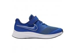 Star Runner 2 Çocuk Mavi Spor Ayakkabı (AT1801-400)