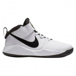 Team Hustle D 9 Çocuk Beyaz Basketbol Ayakkabısı (AQ4225-100)