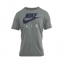 Air Puff Graphic Erkek Gri Tişört