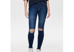 Onlblush MID Ank Destr Hem Jeans Rea2796