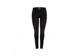Onlcarmen Reg Skinny Black Dnm Jeans Cry