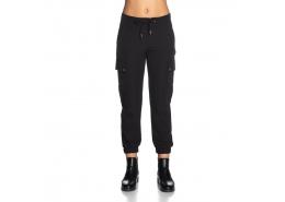 Onlglowing Cargo Kadın Siyah Pantolon