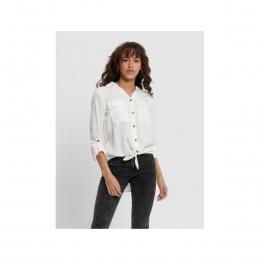 Onlkarla Kadın Beyaz Gömlek (15197185-Cloud Dancer)