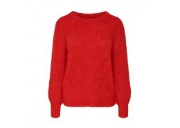 Onllucy Kadın Kırmızı Kazak (15189240-Fiery Red)