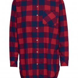 Onlrock It Loose L/s Check Shirt Dnm