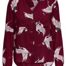 Onlyasmine L/s Vneck Shirt Wvn