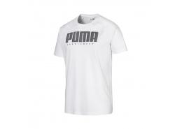 Athletics Tee Erkek Beyaz Tişört