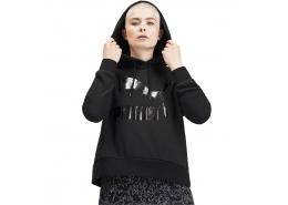 Classics Logo Kadın Siyah Sweatshirt