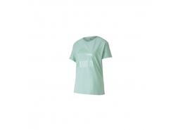 Classics Logo Kadın Mavi Tişört
