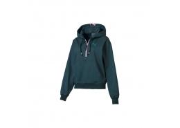 Feel It Cover Up Kadın Yeşil Yarım Fermuarlı Sweatshirt