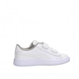 Smash V2 Leather Bebek Beyaz Spor Ayakkabı